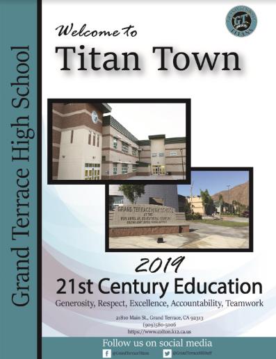 Grand Terrace High School / Homepage