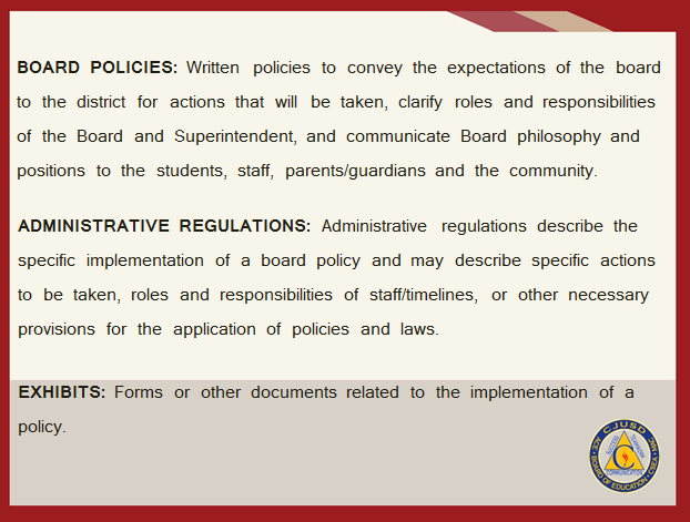 Board Policies - CJUSD
