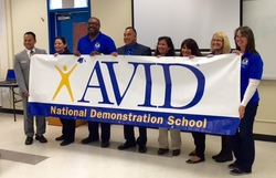 BHS is Recognized as an   AVID National Demonstration School