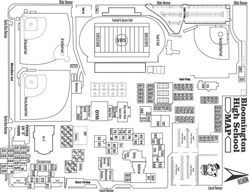 Red Mountain High School Campus Map.Bloomington High School Homepage