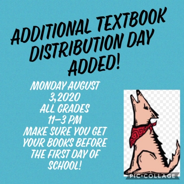Additional Textbook Distribution Day