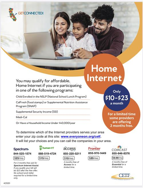 Affordable Internet Flier