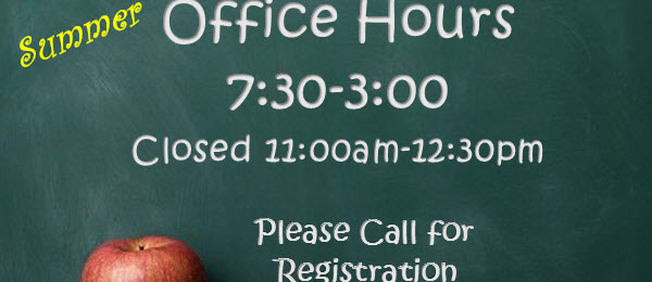Office Hours & Registration