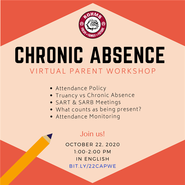 Chronic Absence Parent Workshop 1