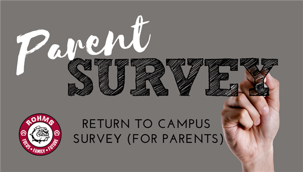 Return to Campus Survey (PARENT/GUARDIAN)