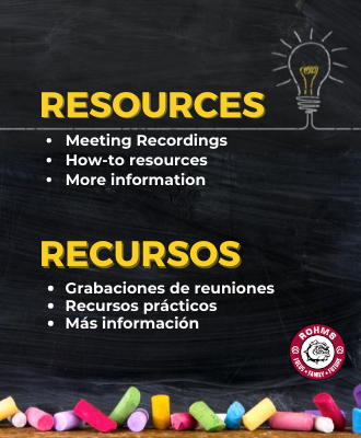 Parent and student Video Resources / Recursos de video para padres y estudiantes