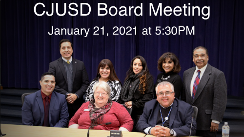 CJUSD Board Meeting