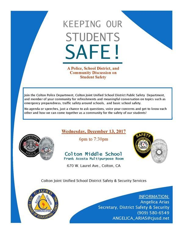 Student Safety Discussion