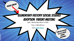 Elementary Social Studies Adoption