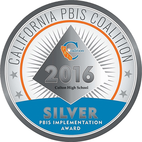 California PBIS Coalition 2016 PBIS Implementation Award