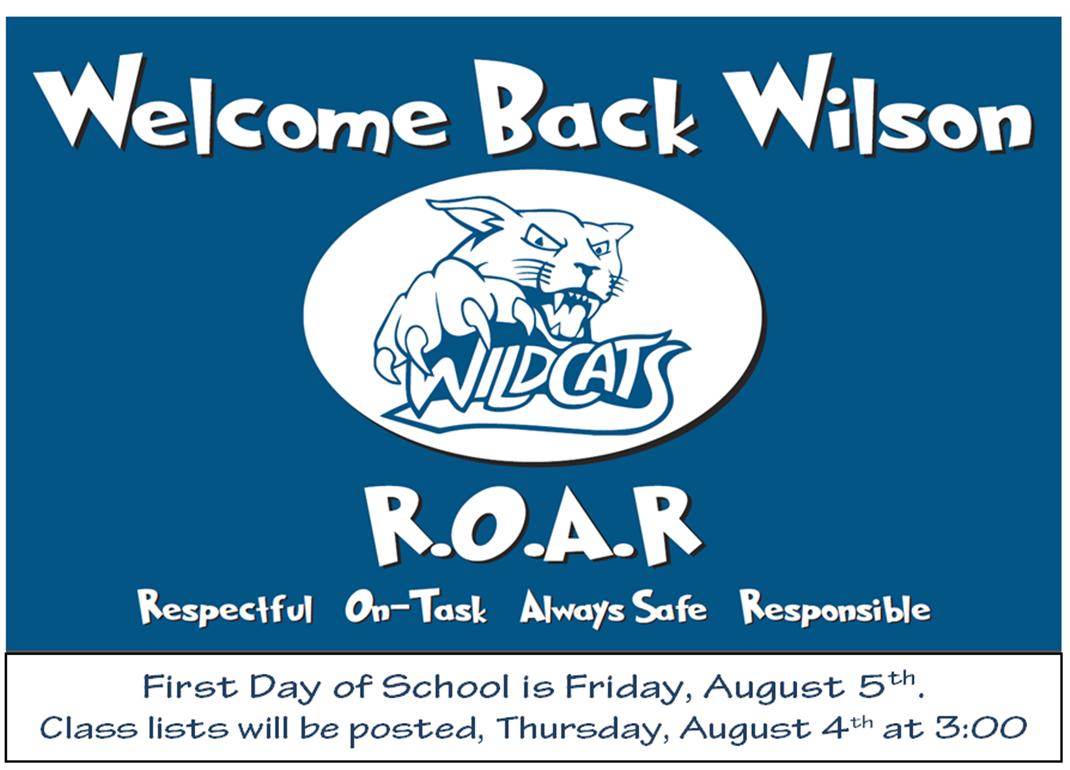 Wilson Elementary School / Homepage
